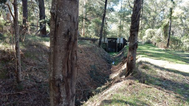 sluice gate on aqueduct - D Tweeddale